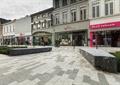 商業環境,商業街,商業中心,街道景觀,坐凳,商業建筑