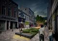 商业街,商业环境,商业楼,商业景观