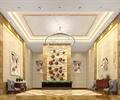 酒店过道,装饰墙,椅子,装饰画