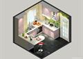 厨房,厨房餐柜,厨房设施,厨房门
