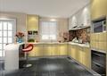 厨房,厨房餐柜,厨房设施,橱柜,桌凳