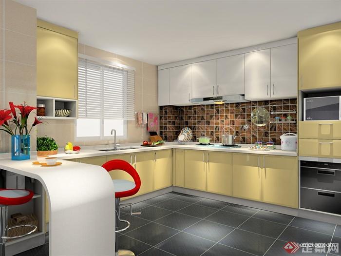 厨房,厨房餐柜,厨房设施,橱柜