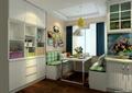 厨房,餐厅,柜子,桌子