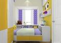 卧室,儿童房,床,柜子