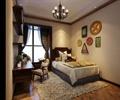 卧室,卧室床,桌椅,吊灯