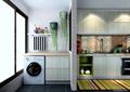 厨房,橱柜,洗衣机