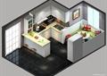 厨房餐厅,橱柜,厨房餐柜,厨房设施,餐桌椅