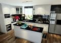 厨房,橱柜,厨房餐柜,开放式厨房