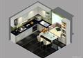 厨房餐厅,厨房,橱柜,厨房餐柜