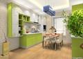 餐厅厨房,厨房餐柜,橱柜,厨房设施,餐桌椅