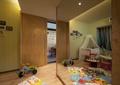 儿童房,地毯,婴儿床