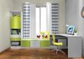儿童房,榻榻米,桌椅,柜子,窗户