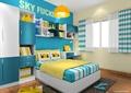 儿童房,儿童床,衣柜,柜子