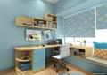 儿童房,桌椅,柜子,飘窗