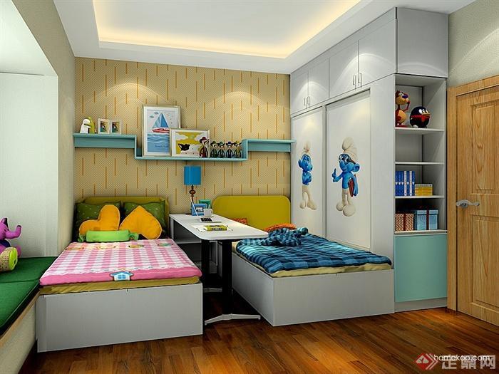 儿童房,衣柜,柜子,飘窗