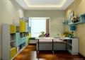 儿童房,儿童床,书柜,柜子
