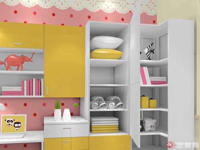儿童房,衣柜,柜子