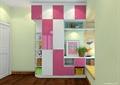 儿童房,柜子,储物柜,飘窗