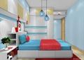 儿童房,榻榻米式床,柜子,衣柜