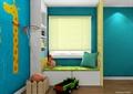 儿童房,飘窗,柜子