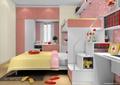 儿童房,儿童床,桌子,柜子