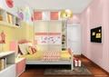 儿童房,儿童床,柜子,书柜