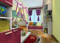 儿童房,儿童床,衣柜,柜子,榻榻米