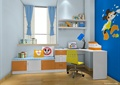 儿童房,书桌,椅子,坐凳