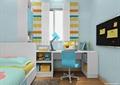 兒童,桌椅,柜子,榻榻米式床