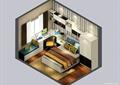 卧室,床,床头柜,桌椅,衣柜