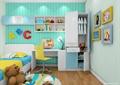 儿童房,儿童桌椅,桌椅,柜子
