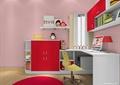 兒童房設計,書桌,書柜,書架