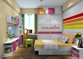 兒童房,兒童床,兒童桌椅,衣柜,柜子