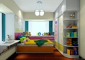 儿童房,衣柜,柜子,儿童房床,吊灯