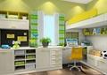儿童房,书柜,柜子,桌椅