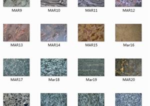 比较完整的石材贴图jpg图