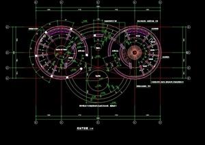 某住宅空间设计cad节点详图