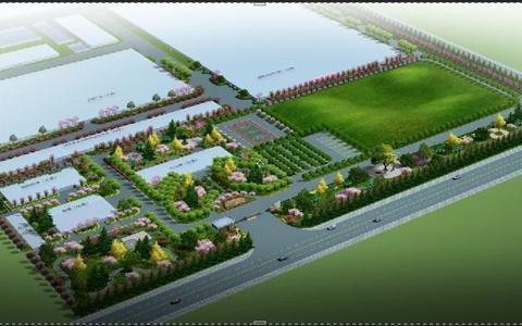 厂区景观绿化设计