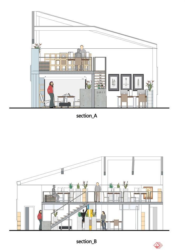 办公空间,办公环境