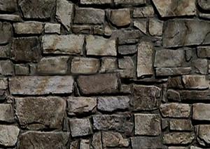93张文化石与剁斧石材质贴图