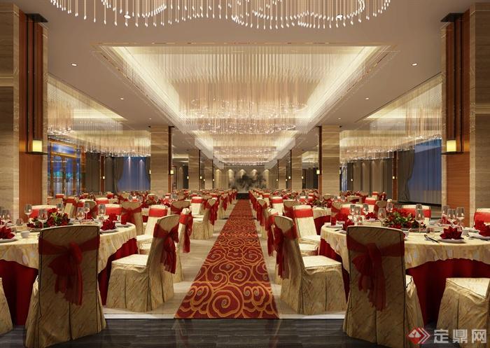 酒店餐饮空间,餐桌椅,餐饮空间,餐厅装饰