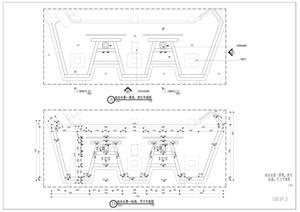 欧式水景设计cad施工图