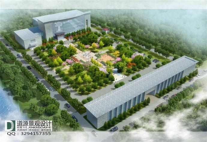 办公区景观设计