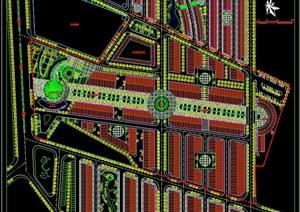 音乐喷泉广场平面图
