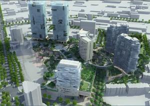 商业中心休闲公园景观规划方案