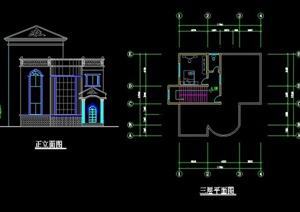 地中海别墅住宅建筑方案图