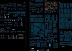 中式装饰设计门窗装饰CAD图库