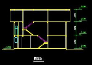 三层别墅住宅建筑方案图