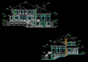 三层住宅别墅建筑方案图
