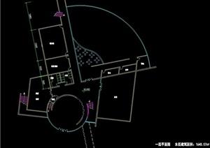 现代会所建筑设计cad方案图
